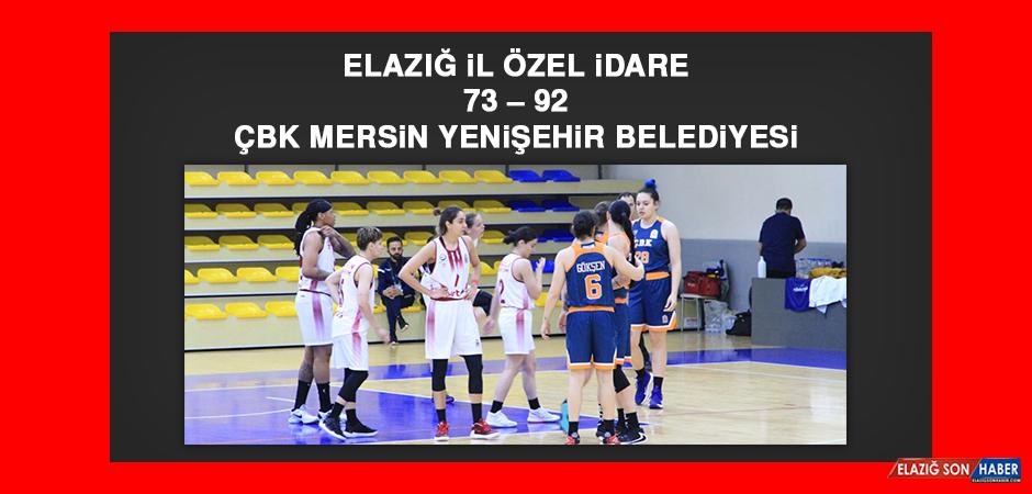 Elazığ İl Özel İdare 73 – 92 ÇBK Mersin Yenişehir Belediyesi