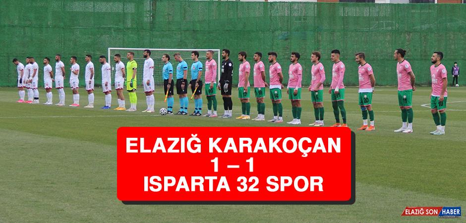 Elazığ Karakoçan 1 – 1 Isparta 32 Spor
