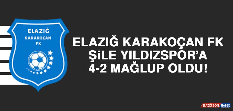 Elazığ Karakoçan FK Evinde Karşılaştığı Şile Yıldızspor'a 4-2 Mağlup Oldu