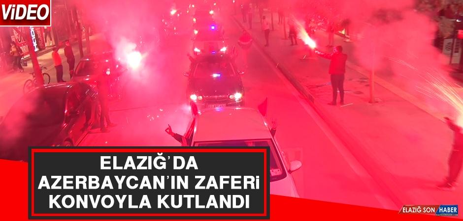 Elazığ'da Azerbaycan'ın Zaferi Konvoyla Kutlandı