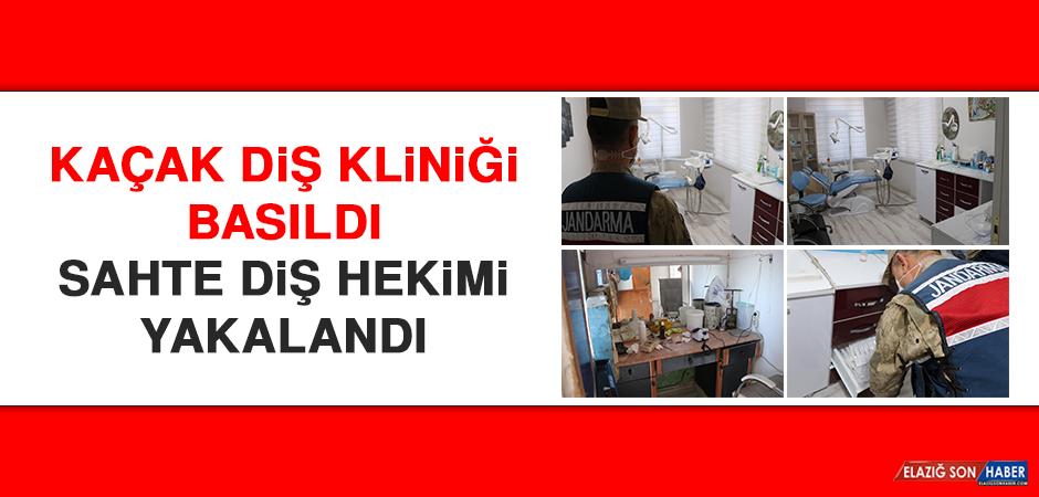 Elazığ'da Kaçak Diş Kliniği Basıldı, Sahte Diş Hekimi Yakalandı