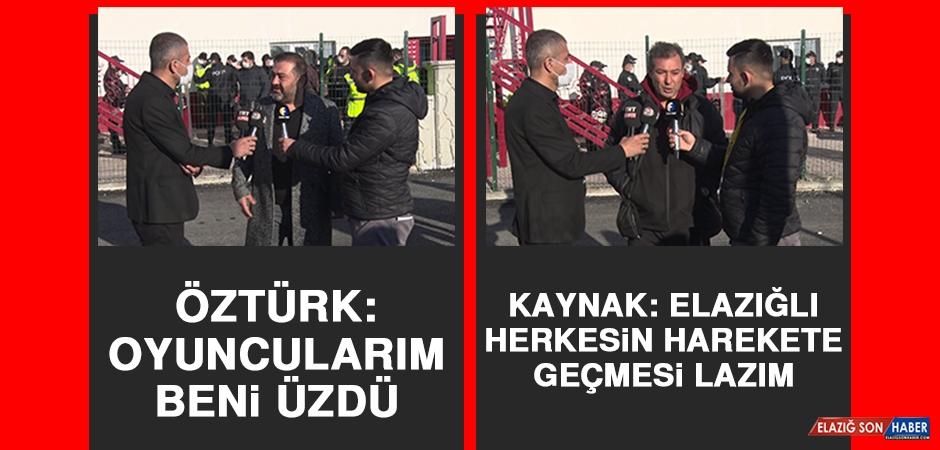 Elazığspor-Pazarspor Karşılaşmasının Ardından Teknik Heyet Açıklama Yaptı