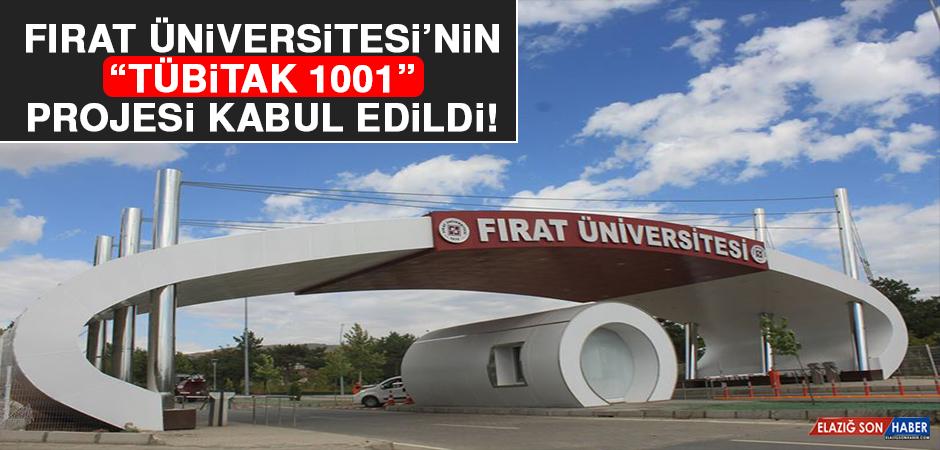 """Fırat Üniversitesi'nin """"TÜBİTAK 1001"""" Projesi Kabul Edildi"""