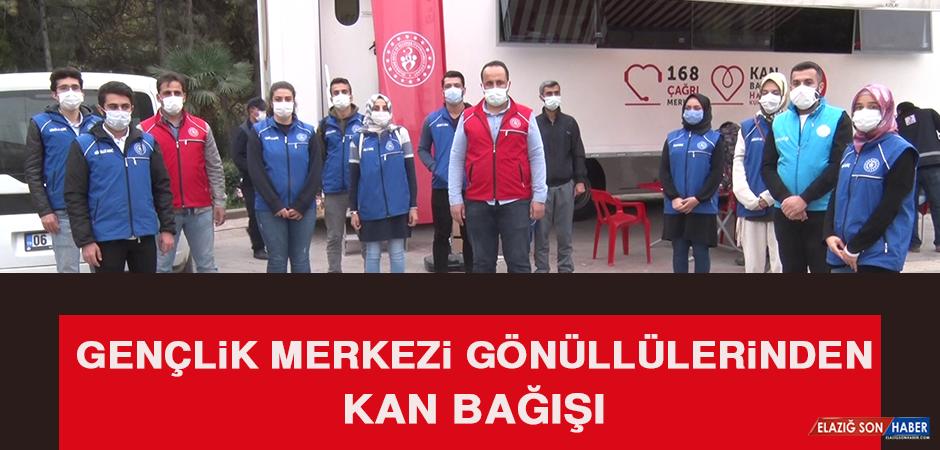 Gençlik Merkezi Gönüllüleri Kan Bağışında Bulundu