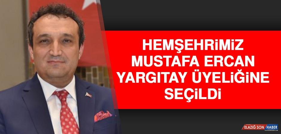 Hemşehrimiz Mustafa Ercan, Yargıtay Üyeliğine Seçildi