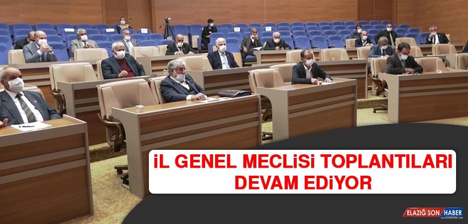 İl Genel Meclisi Toplantıları Devam Ediyor