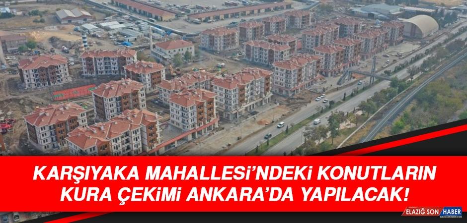 Karşıyaka'daki TOKİ Konutlarının Kurası Ankara'da Çekilecek