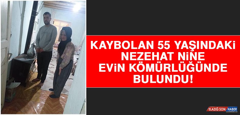 Kaybolan 55 Yaşındaki Nezehat Nine Evin Kömürlüğünde Bulundu