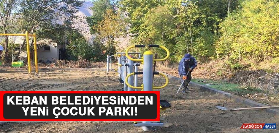 Keban Belediyesinden Yeni Çocuk Parkı