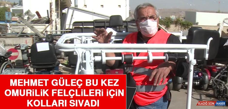 Mehmet Güleç, Bu Kez Omurilik Felçlileri İçin Kolları Sıvadı
