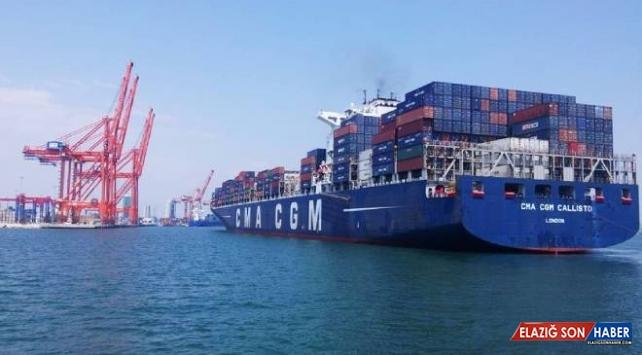 Mersin Uluslararası Limanı'ndan iş hacmi rekoru