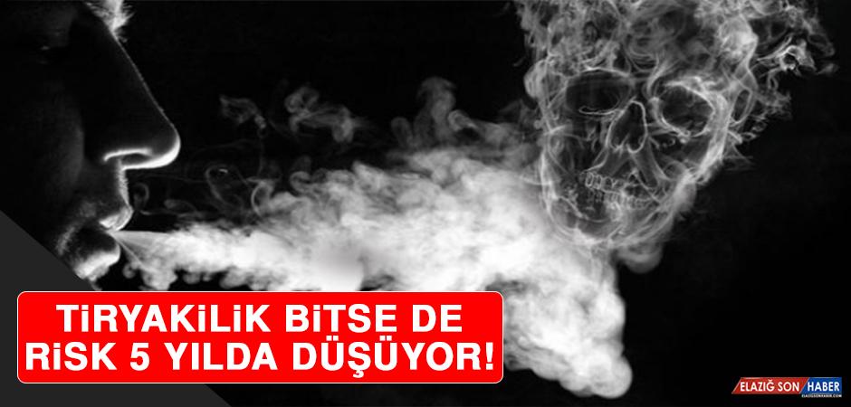 Neden Hiç Sigaraya Başlanılmamalı? Tiryakilik Bitse De Risk 5 Yılda Düşüyor!