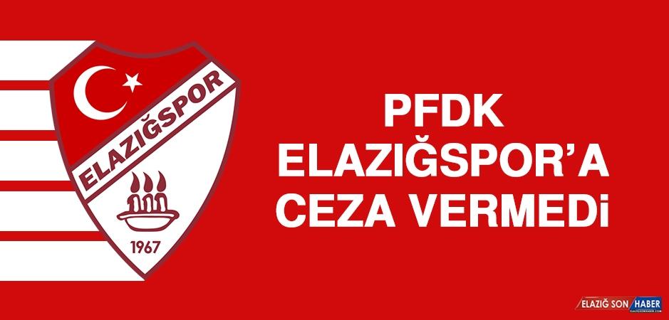 PFDK, Elazığspor'a Ceza Vermedi