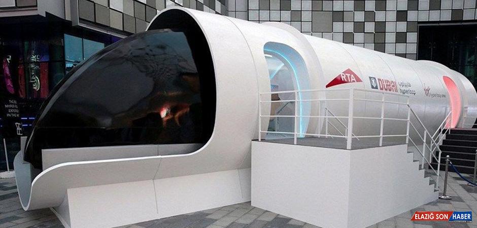Saatte Bin Km Hıza Ulaşacak Hyperloop Treni, İnsanlı Testlere Başladı