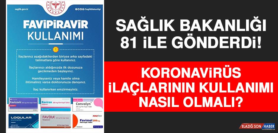 Sağlık Bakanlığı 81 İle Gönderdi! İşte Koronavirüs İlaçlarının Kullanımı