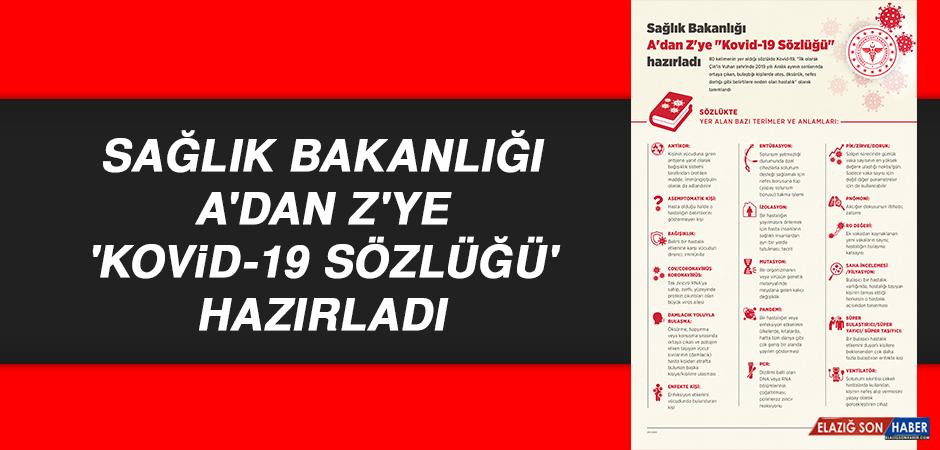 Sağlık Bakanlığı A'dan Z'ye 'Kovid-19 Sözlüğü' hazırladı