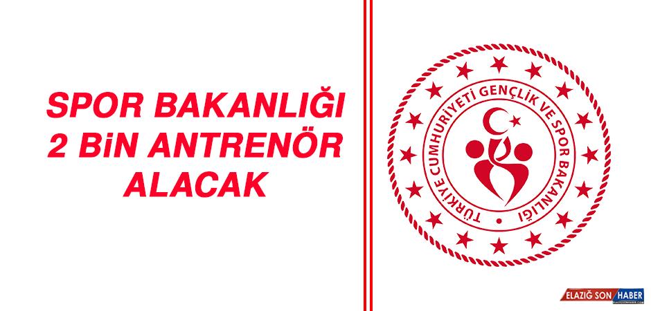 Spor Bakanlığı, 2 Bin Antrenör Alacak