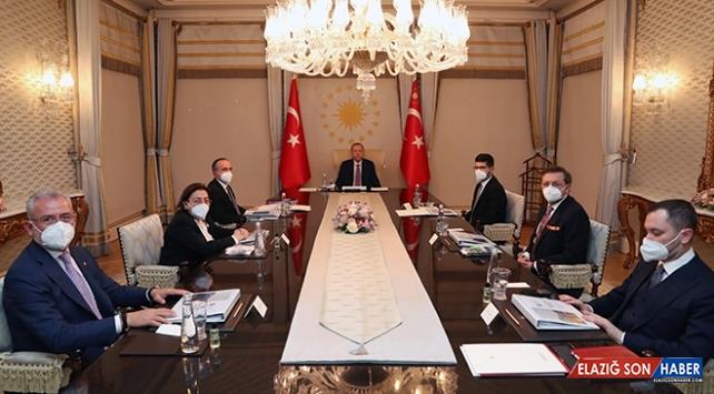 Türkiye Varlık Fonu, Cumhurbaşkanı Erdoğan başkanlığında toplandı