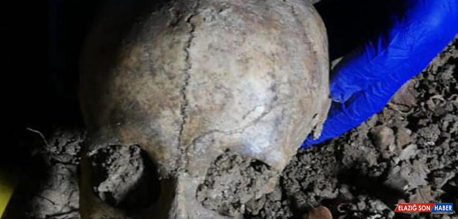Yol Çalışmasında Kafatası ve İnsan Kemikleri Bulundu!