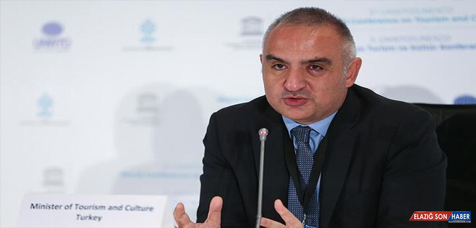 """Bakan Ersoy: """"Turizmde rakiplerimize göre daha az kayıp yaşayacağız"""""""