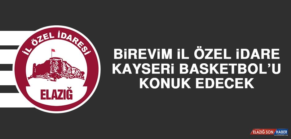 Birevim İÖİ, Kayseri Basketbol'u Konuk Edecek