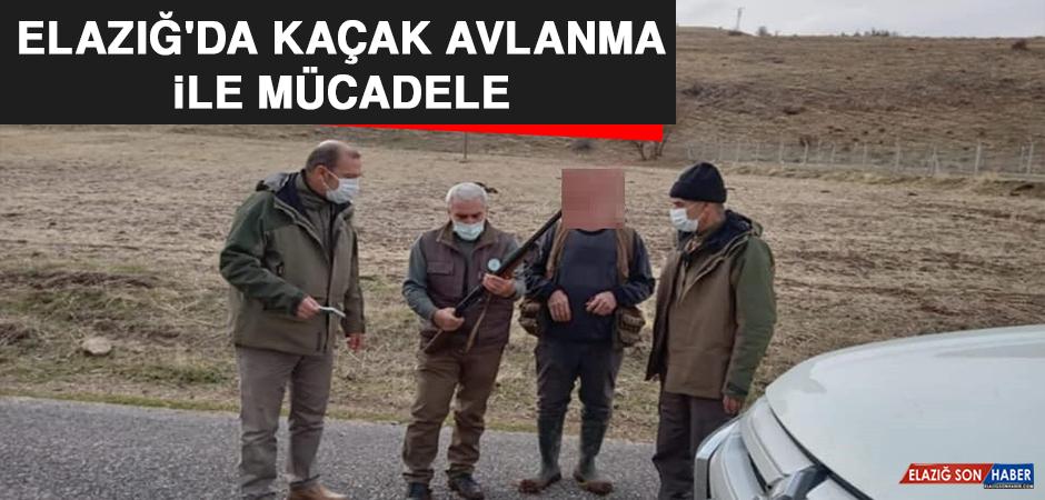 Elazığ'da Kaçak Avlanma İle Mücadele