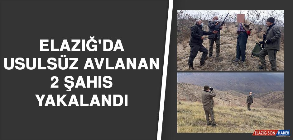 Elazığ'da Usulsüz Avlanan 2 Şahıs Yakalandı