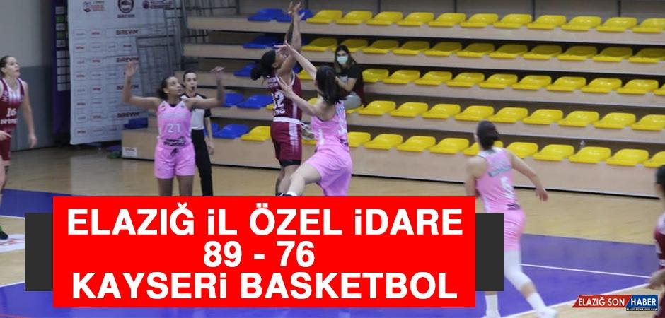 Elazığ İl Özel İdare 89 - 76 Kayseri Basketbol