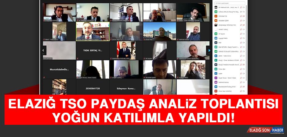 Elazığ TSO Paydaş Analiz Toplantısı Yoğun Katılımla Yapıldı!