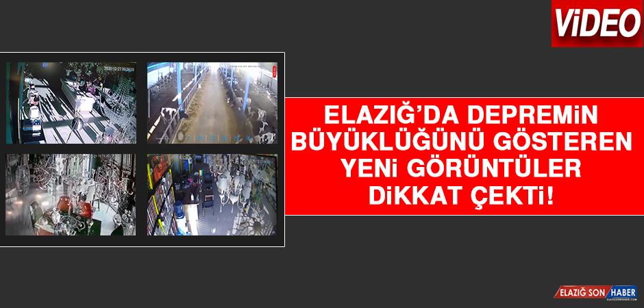 Elazığ'da Depremin Büyüklüğünü Gösteren Yeni Görüntüler Dikkat Çekti