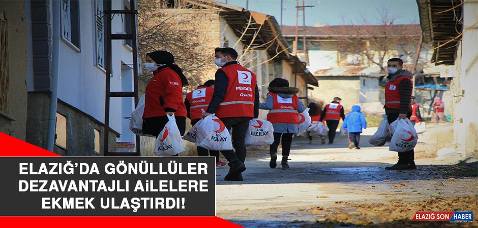 Elazığ'da Gönüllüler Dezavantajlı Ailelere Ekmek Ulaştırdı