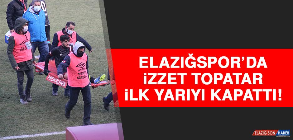 Elazığspor'da İzzet, İlk Yarıyı Kapattı