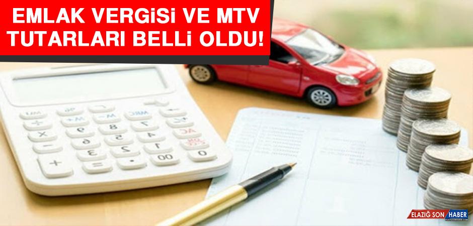 Emlak Vergisi ve MTV Tutarları Belli Oldu!