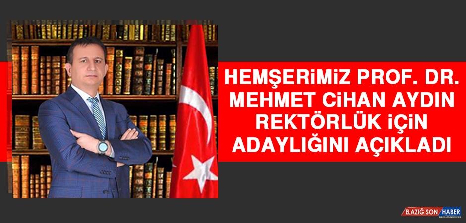 Hemşerimiz Prof. Dr. Aydın Bitlis Eren Üniversitesi Rektörlüğü İçin Adaylığını Açıkladı