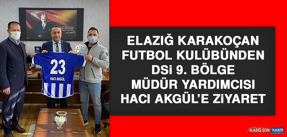 Karakoçan Futbol Kulübünden DSİ 9. Bölge Müdür Yardımcısına Ziyaret
