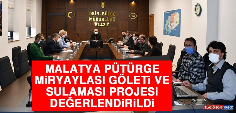 Malatya'da Proje Değerlendirme Toplantıları Yapıldı