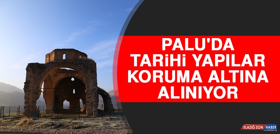 Palu'da Tarihi Yapılar Koruma Altına Alınıyor