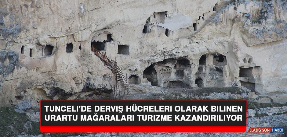 Tunceli'de Derviş Hücreleri Olarak Bilinen Urartu Mağaraları Turizme Kazandırılıyor