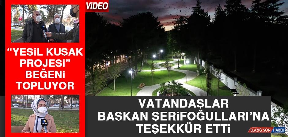 """""""Yeşil Kuşak Projesi"""" Beğeni Topluyor"""