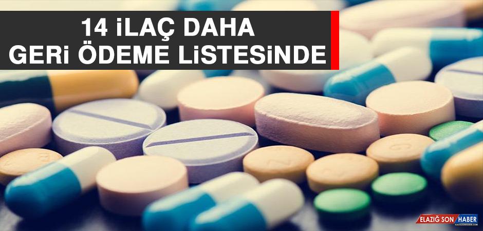 14 İlaç Daha Geri Ödeme Listesinde