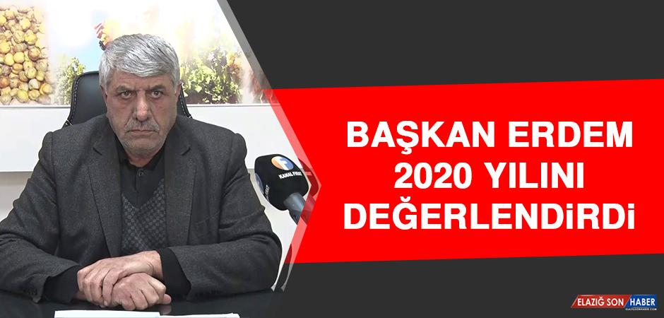 Başkan Erdem, 2020 Yılını Değerlendirdi