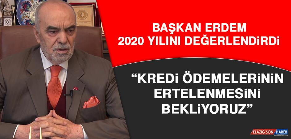 """Başkan Erdem: """"Elazığ pozitif ayrımcılığı hak ediyor"""""""