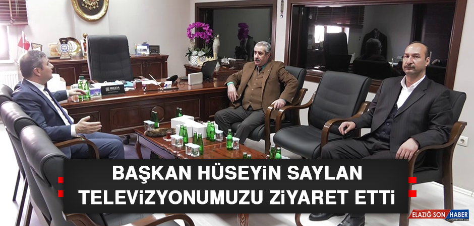 Başkan Hüseyin Saylan, Televizyonumuzu Ziyaret Etti