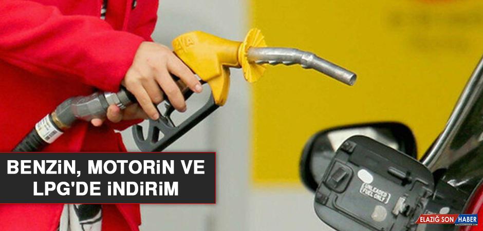 Benzin, Motorin ve LPG'de İndirim