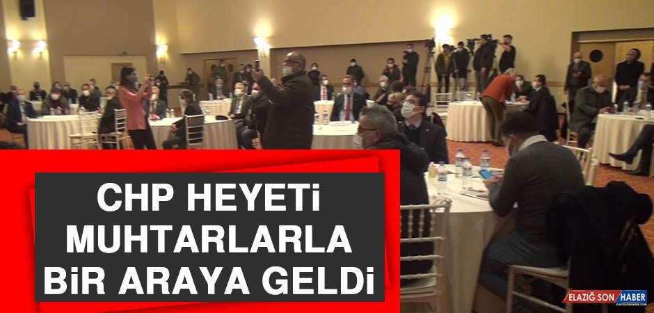 CHP Heyeti, Muhtarlarla Bir Araya Geldi
