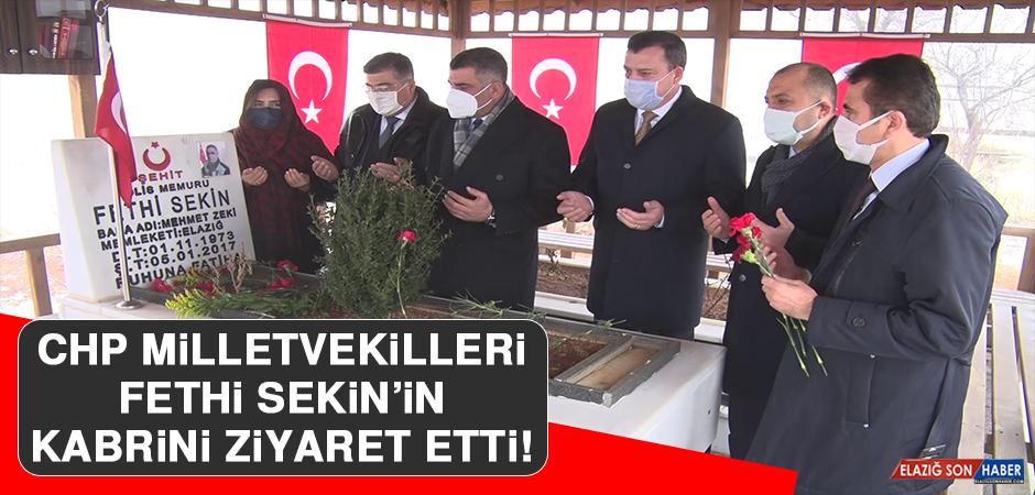 CHP Milletvekilleri, Fethi Sekin'in Kabrini Ziyaret Etti