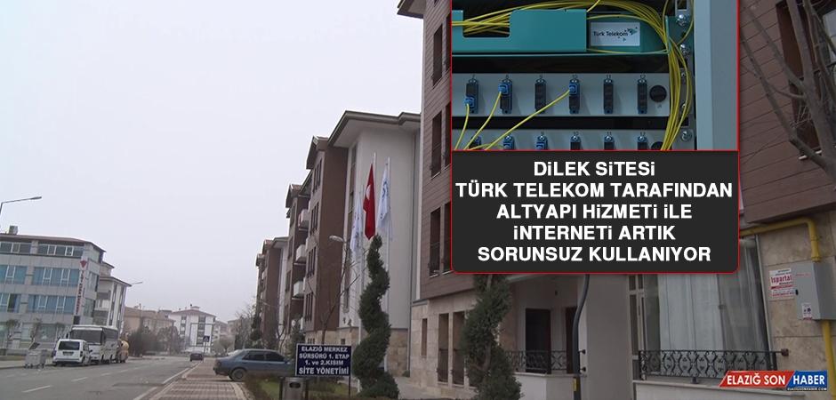 Dilek Sitesi, Türk Telekom Tarafından Fiber Altyapı Hizmeti İle İnterneti Artık Sorunsuz Kullanıyor