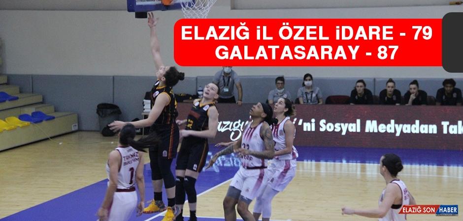 Elazığ İl Özel İdare 79 - 87 Galatasaray