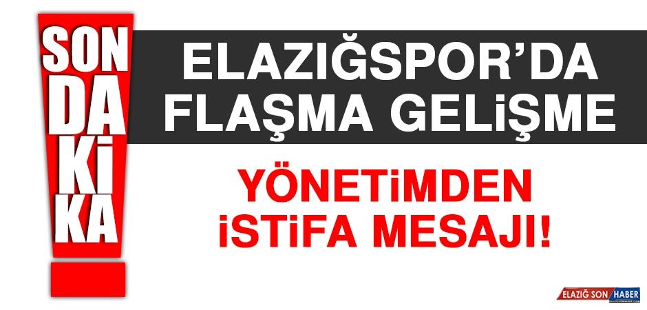 Elazığspor Kulüp Yönetimi İstifa mı Ediyor?