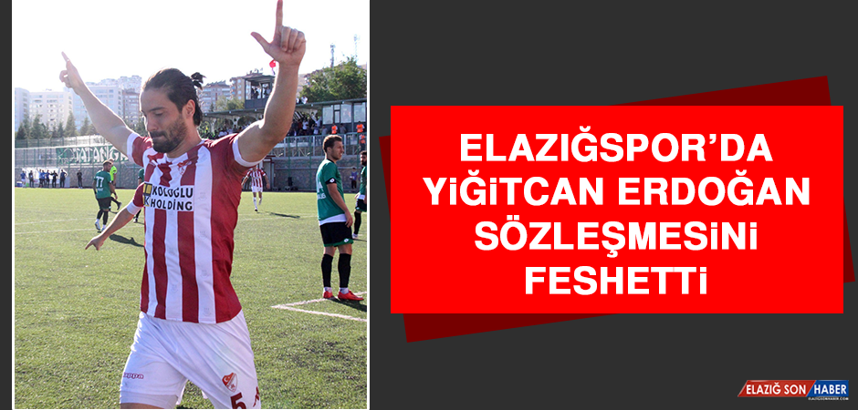 Elazığspor'da Yiğitcan Erdoğan, Sözleşmesini Feshetti